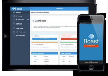 Boast Dashboard