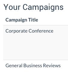 testimonial campaigns