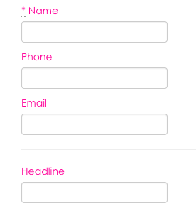 Customize submission form