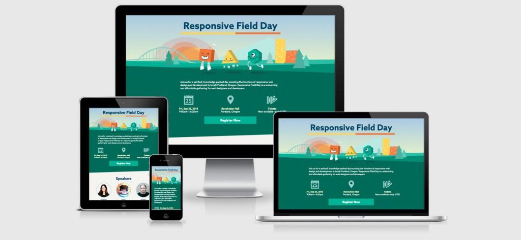 Responsive Field Day Responsive Website Design