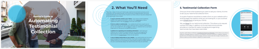 Realtor's Guide to Automating Testimonial Collection