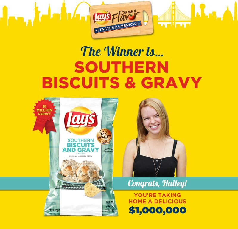 Lay's Do Us A Flavor User Generated Content Contest