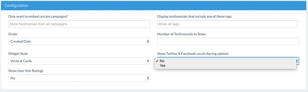 Boast Display Widget Social Sharing Buttons