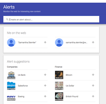 reputation management with google alerts