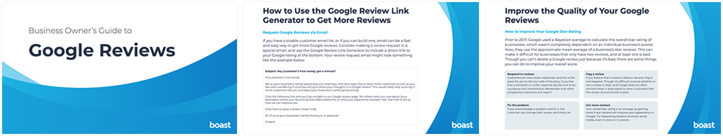 Business Owner's Guide to Google Reviews