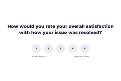 Customer Surveys for Support Teams