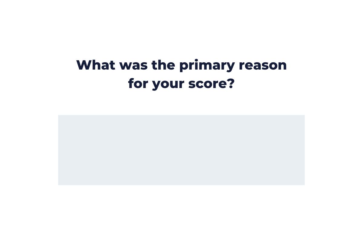 NPS Question Follow-Up