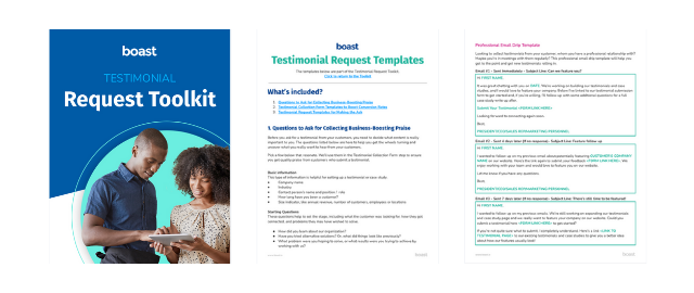 Testimonial Request Toolkit